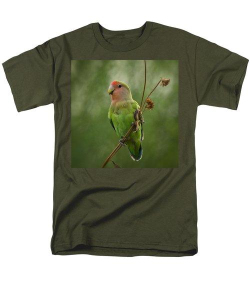 Lovely Little Lovebird  Men's T-Shirt  (Regular Fit)