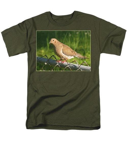 Morning Dove I Men's T-Shirt  (Regular Fit) by Debbie Portwood