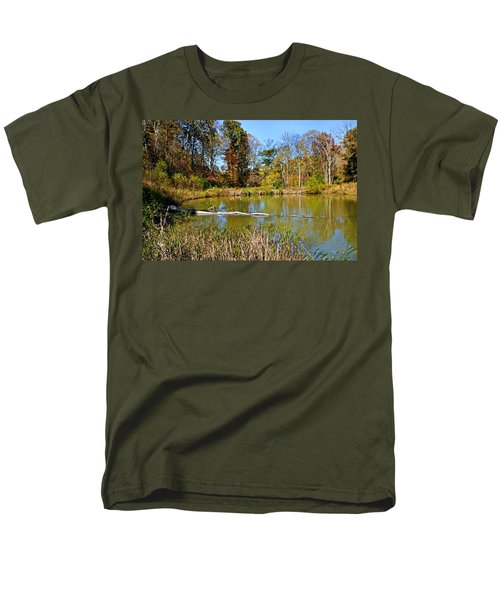 Men's T-Shirt  (Regular Fit) featuring the photograph Peaceful Place by Kristin Elmquist