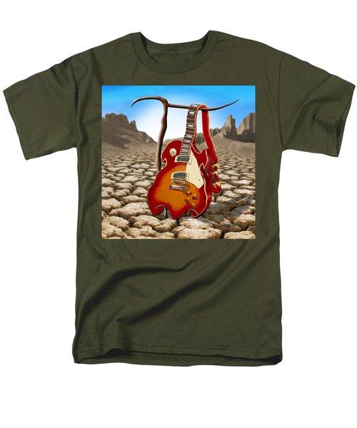 Soft Guitar II Men's T-Shirt  (Regular Fit) by Mike McGlothlen