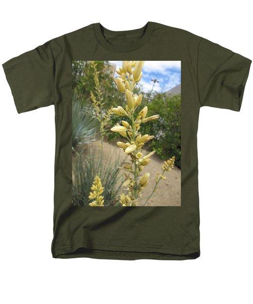 1 String Flowers    Photographed Las Vegas May 2014 Men's T-Shirt  (Regular Fit) by Navin Joshi