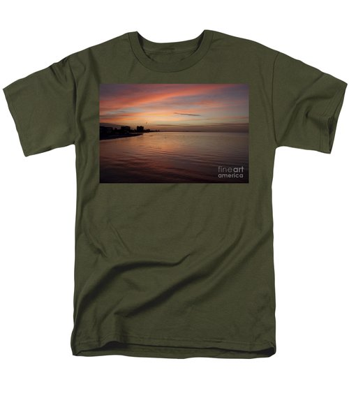 Men's T-Shirt  (Regular Fit) featuring the photograph Sunrise Over Fort Myers Beach Photo by Meg Rousher