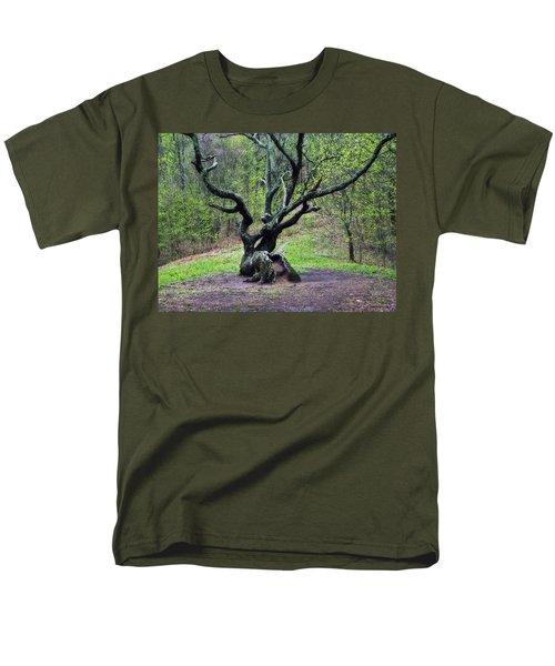 Tree In The Forest Men's T-Shirt  (Regular Fit) by Susan Leggett