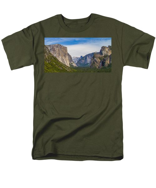 Yosemite Valley Men's T-Shirt  (Regular Fit) by Brian Williamson