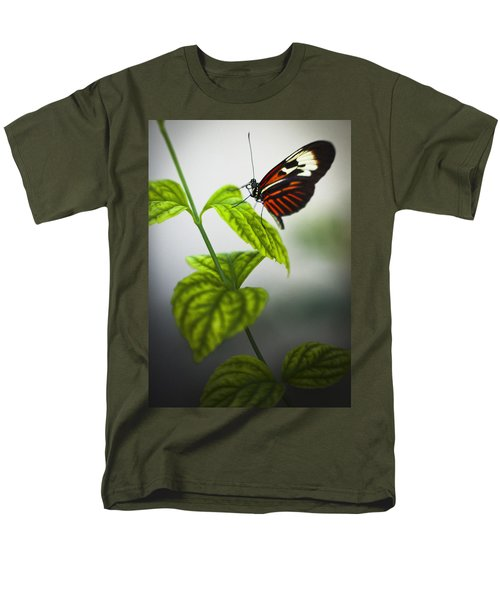 Butterfly Men's T-Shirt  (Regular Fit) by Bradley R Youngberg