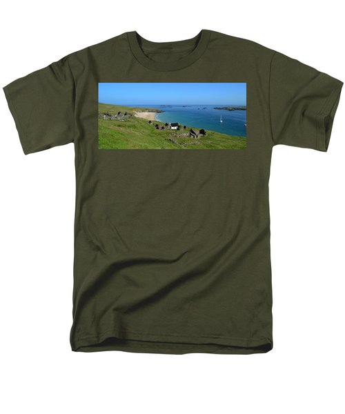 Blasket Islands Men's T-Shirt  (Regular Fit) by Barbara Walsh