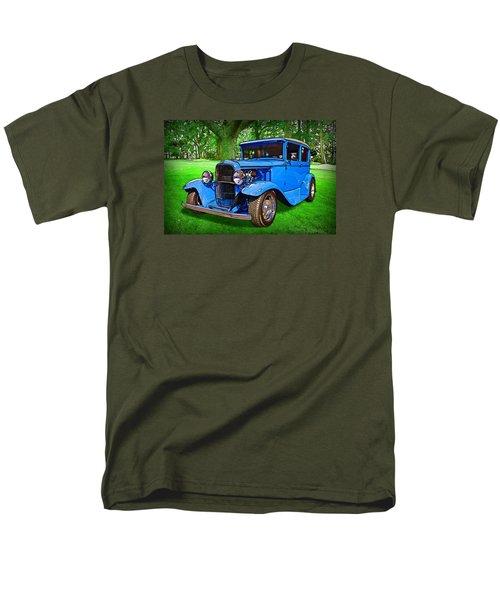 Men's T-Shirt  (Regular Fit) featuring the digital art 1930 Ford by Richard Farrington