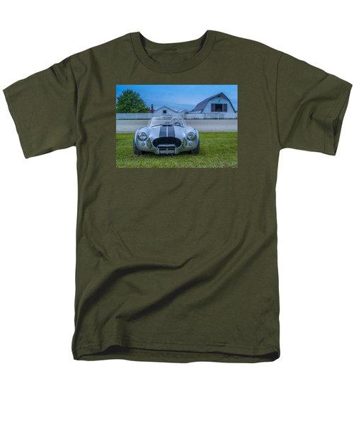 1965 Ford Shelby Cobra American Roadster Men's T-Shirt  (Regular Fit) by Ken Morris