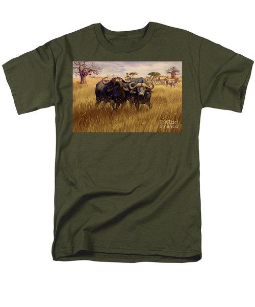 Men's T-Shirt  (Regular Fit) featuring the digital art 2 Bad Duga Boys  by Rob Corsetti