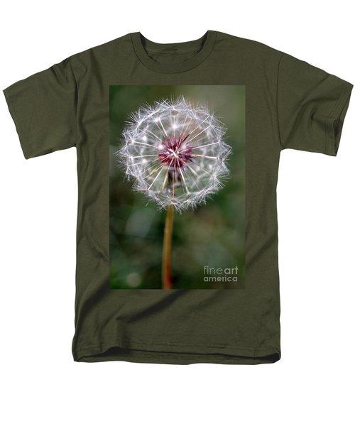 Men's T-Shirt  (Regular Fit) featuring the photograph Dandelion Seed Head by Henrik Lehnerer