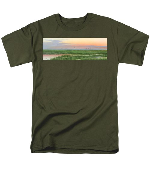 Men's T-Shirt  (Regular Fit) featuring the painting Divine Whisper by Mike Brown