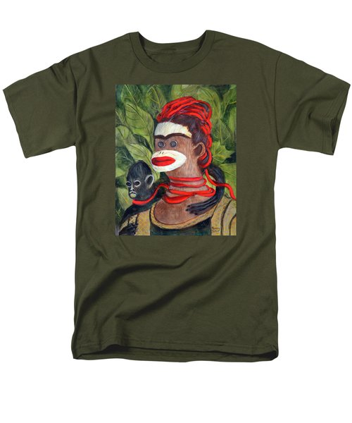 With Love To The Artist Frida Kahlo Men's T-Shirt  (Regular Fit) by Randy Burns