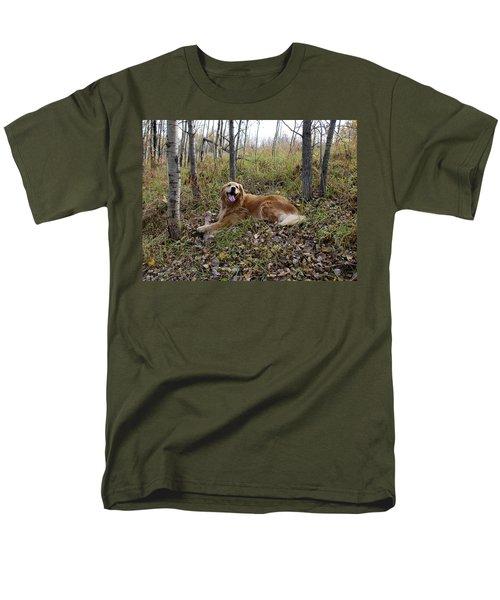 Happiness Is Men's T-Shirt  (Regular Fit) by Rhonda McDougall