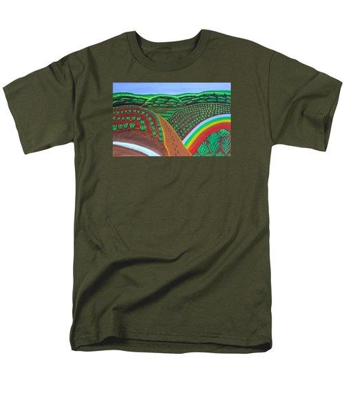 Hidden Forest Men's T-Shirt  (Regular Fit) by Lorna Maza