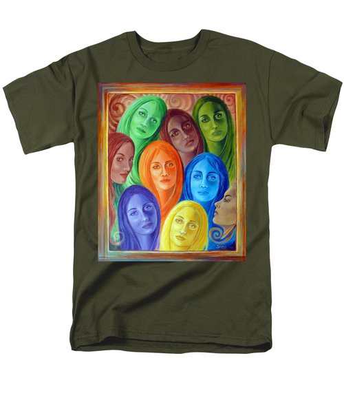 Serene Sisters Men's T-Shirt  (Regular Fit) by Sylvia Kula