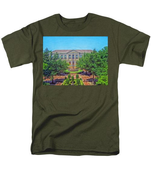 The Old Main - University Of Arkansas Men's T-Shirt  (Regular Fit) by Mountain Dreams