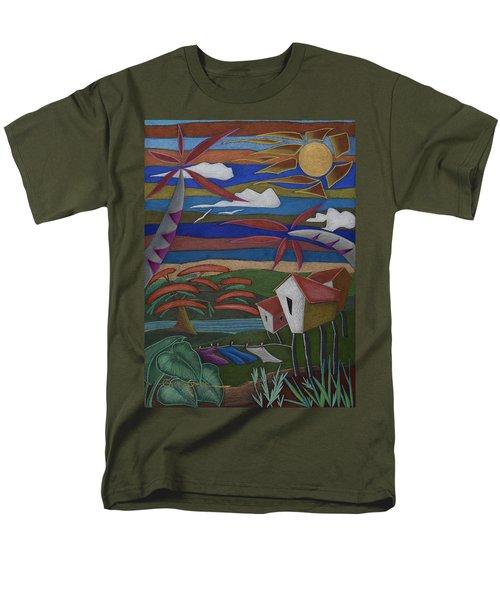 Tiempos Y Remembranzas Men's T-Shirt  (Regular Fit) by Oscar Ortiz