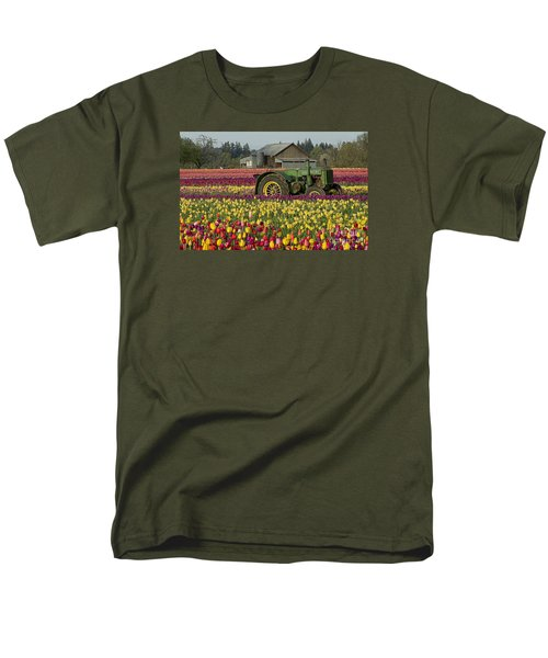 Men's T-Shirt  (Regular Fit) featuring the photograph With Toil Comes Beauty by Nick  Boren