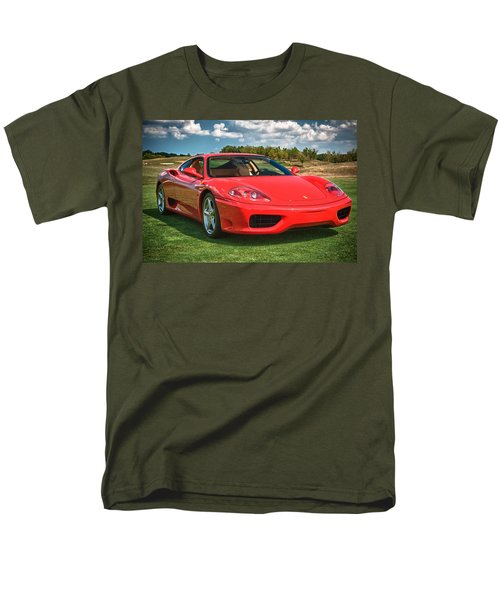 2001 Ferrari 360 Modena Men's T-Shirt  (Regular Fit) by Sebastian Musial