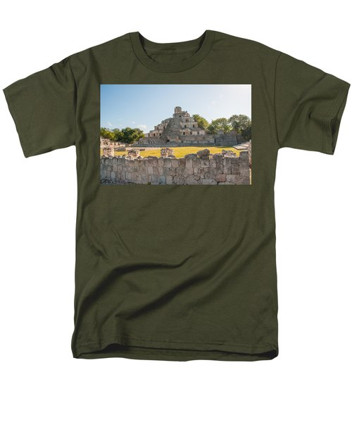 Edzna In Campeche Men's T-Shirt  (Regular Fit) by Carol Ailles