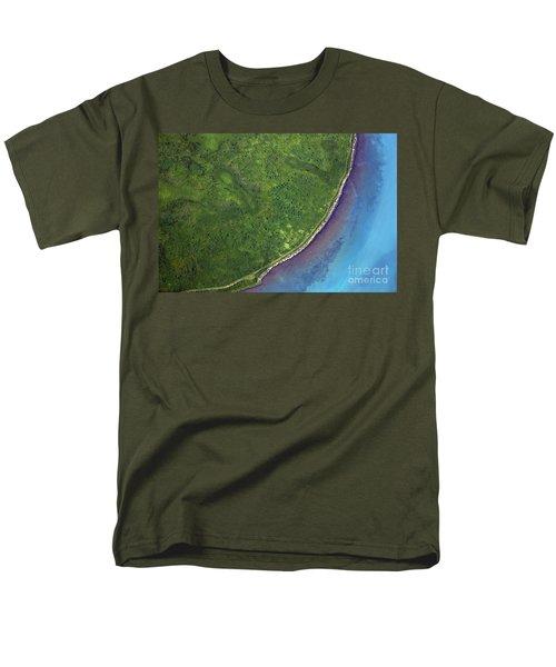 Iceland Aerial Photo Men's T-Shirt  (Regular Fit) by Gunnar Orn Arnason