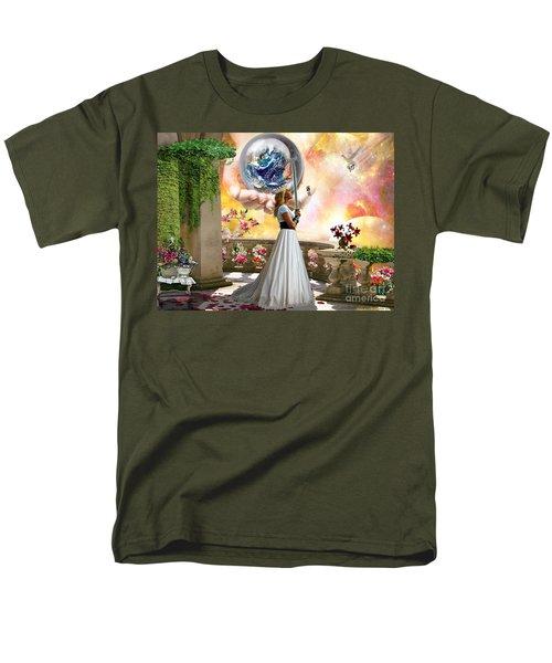 Warrior Bride Men's T-Shirt  (Regular Fit) by Dolores Develde
