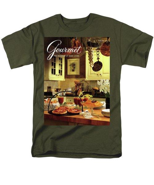 A Buffet Brunch Party Men's T-Shirt  (Regular Fit) by Romulo Yanes