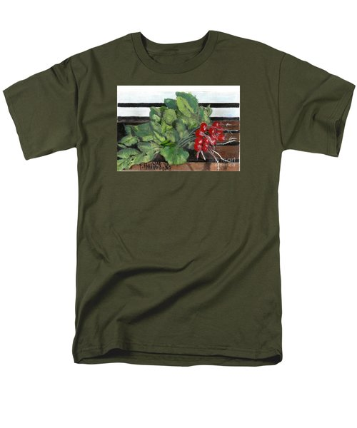 A Bunch Of Radishes  Men's T-Shirt  (Regular Fit)