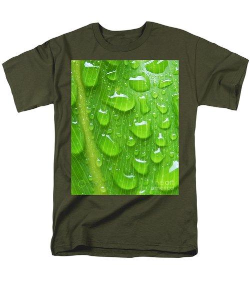 Men's T-Shirt  (Regular Fit) featuring the photograph A Cleansing Morning Rain by Robert ONeil