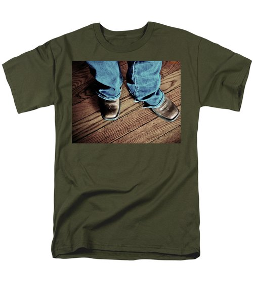 A Cowgirl Men's T-Shirt  (Regular Fit) by Chris Berry