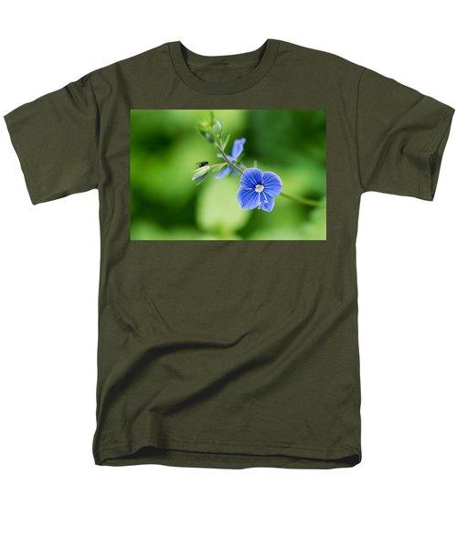 A Flower And A Fly - Featured 3 Men's T-Shirt  (Regular Fit) by Alexander Senin