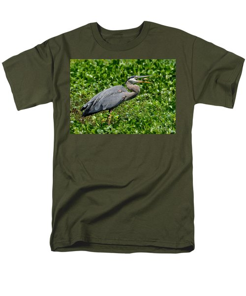 Men's T-Shirt  (Regular Fit) featuring the photograph A Little Snack by Kathy Baccari