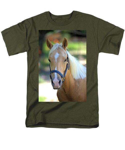 Men's T-Shirt  (Regular Fit) featuring the photograph A Loyal Friend by Gordon Elwell
