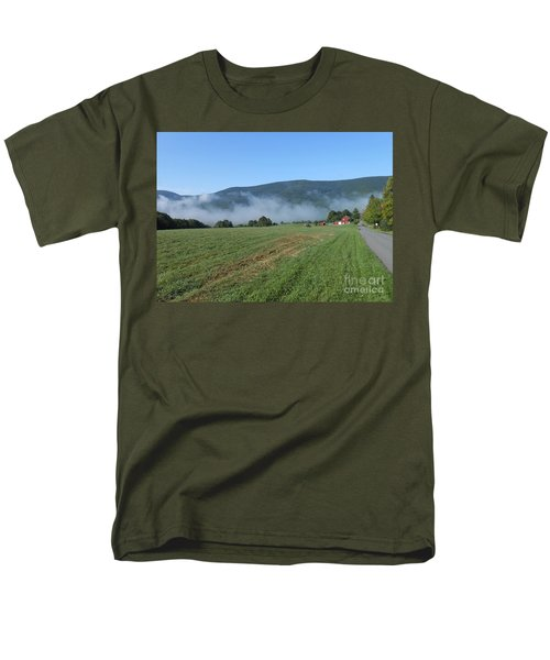 A Morning Ride On Our Paso Fino Stallions Men's T-Shirt  (Regular Fit) by Patricia Keller