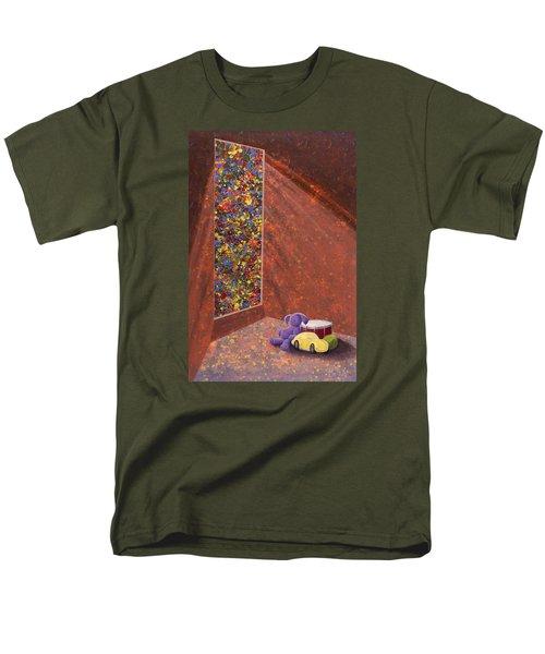 A Mother's Hope Men's T-Shirt  (Regular Fit) by Jack Malloch