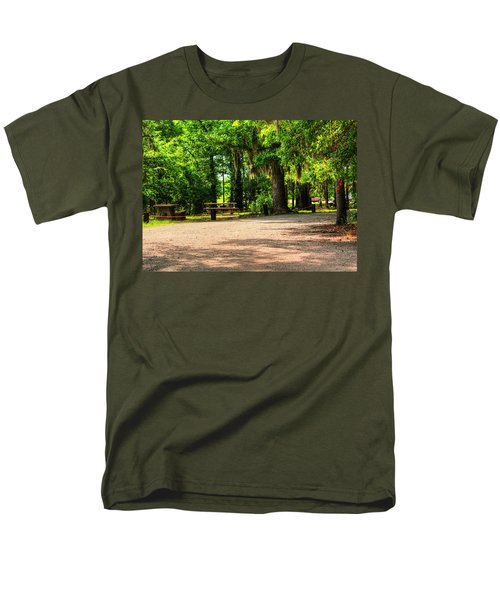 Men's T-Shirt  (Regular Fit) featuring the photograph A Place For Picnic by Ester  Rogers