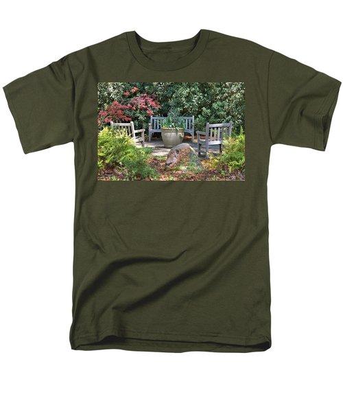 A Quiet Place To Meet Men's T-Shirt  (Regular Fit) by Gordon Elwell