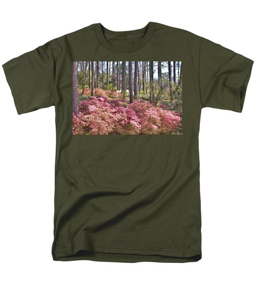 A Quiet Spot In The Woods Men's T-Shirt  (Regular Fit) by Gordon Elwell
