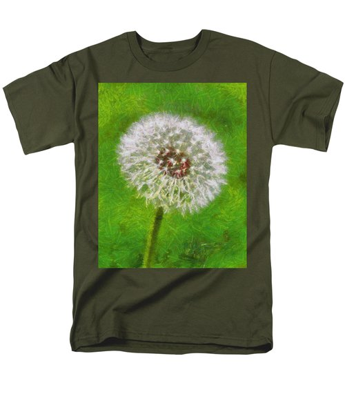 Men's T-Shirt  (Regular Fit) featuring the painting A Simple Beauty by Joe Misrasi