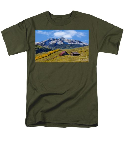 A View From Last Dollar Road Men's T-Shirt  (Regular Fit) by Jerry Fornarotto