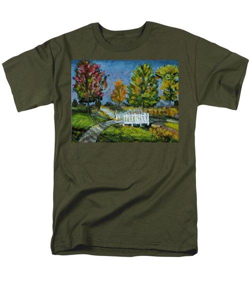 A Walk In The Park Men's T-Shirt  (Regular Fit) by Michael Daniels
