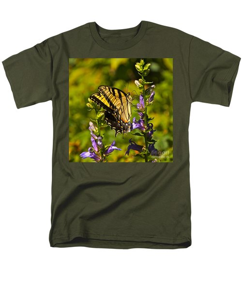 A Warm September Day In The Garden Men's T-Shirt  (Regular Fit) by Byron Varvarigos