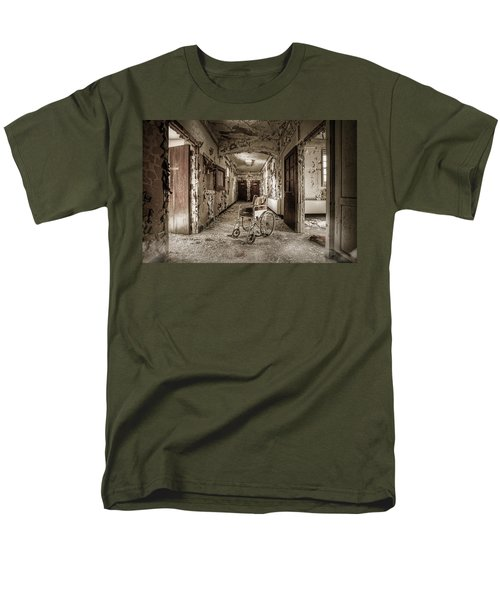 Abandoned Asylums - What Has Become Men's T-Shirt  (Regular Fit) by Gary Heller