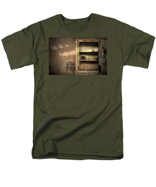 Abandoned Kitchen Cabinet Men's T-Shirt  (Regular Fit) by RicardMN Photography