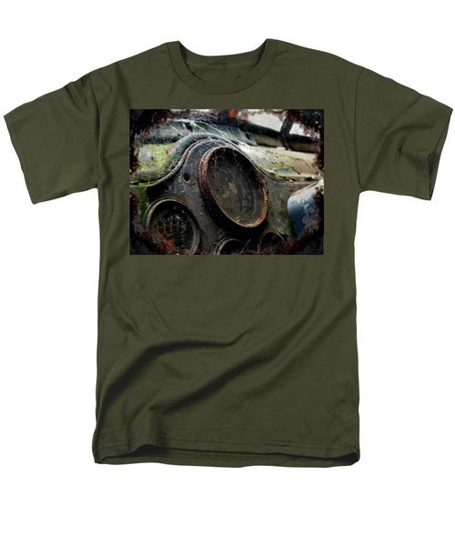 Men's T-Shirt  (Regular Fit) featuring the photograph Abandoned by Micki Findlay