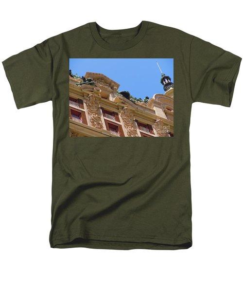 Men's T-Shirt  (Regular Fit) featuring the photograph Adolphus Hotel - Dallas #2 by Robert ONeil