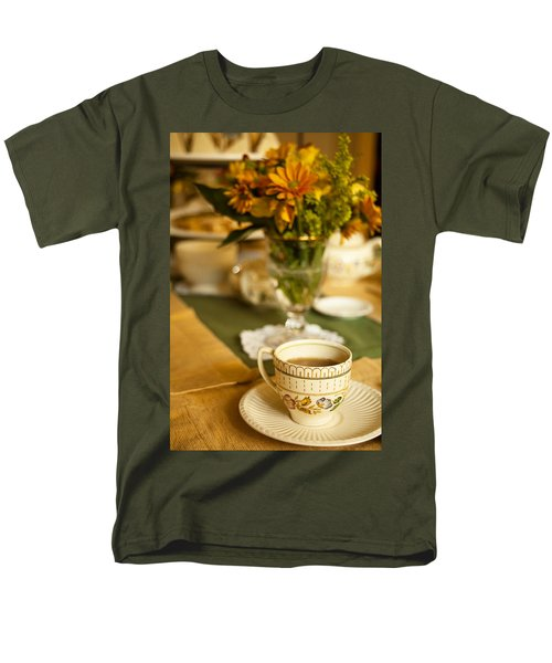 Afternoon Tea Time Men's T-Shirt  (Regular Fit) by Andrew Soundarajan