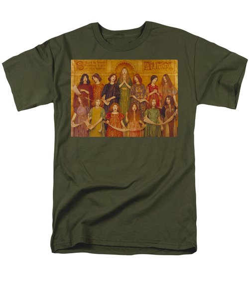 Alleluia Men's T-Shirt  (Regular Fit) by Thomas Cooper Gotch