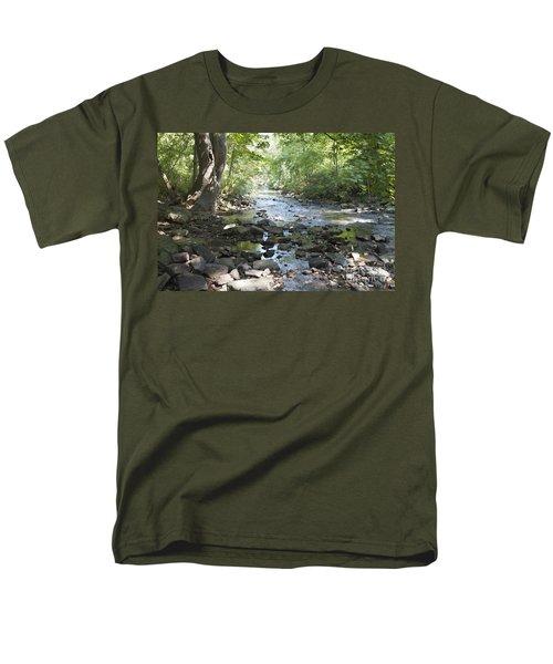 Men's T-Shirt  (Regular Fit) featuring the photograph Allen Creek by William Norton