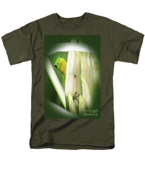 Men's T-Shirt  (Regular Fit) featuring the photograph Aloha by Ellen Cotton